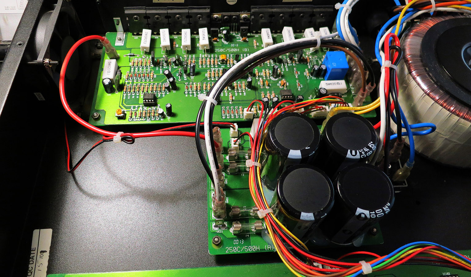 Amplifier circuitry